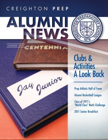 Clubs & Activities? - Creighton Prep - Creighton University