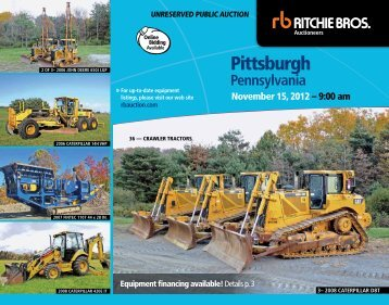 Pittsburgh - Ritchie Bros. Auctioneers