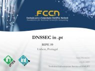 DNSSEC in .pt - RIPE 59