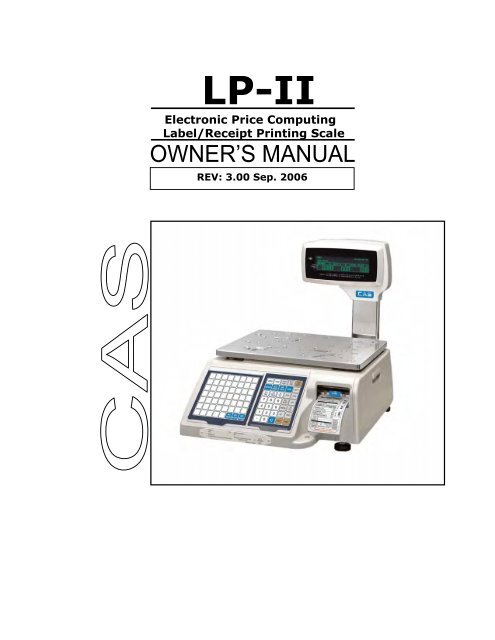 Electronic Price Computing Label/Receipt Printing Scale