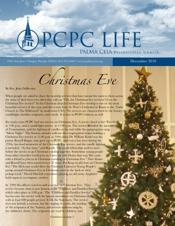 Christmas Eve - Palma Ceia Presbyterian Church