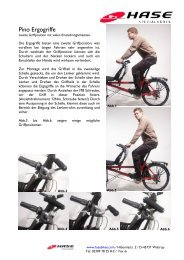 Pino Ergogriffe Anleitung deutsch-englisch (PDF, 352 ... - Hase Bikes