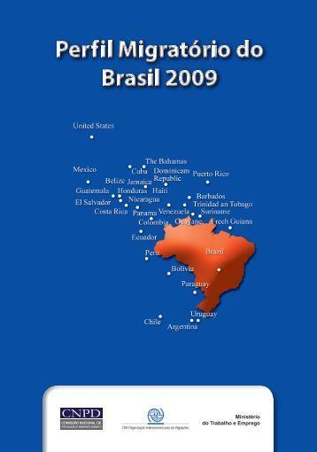 Perfil Migratório do Brasil 2009 - IOM Publications