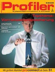Topthema: Vorratsdatenspeicherung - Profiler24
