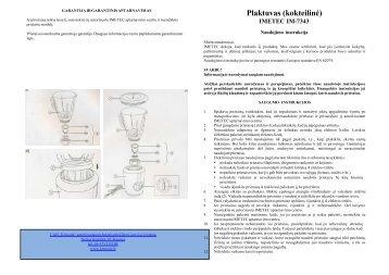 IM-7343 Plaktuvas kokteiline.pdf - UAB Krinona - prekių instrukcijos ...