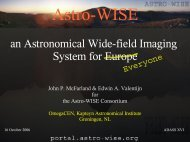 an Astronomical Wide-field Imaging System for Europe - ADASS.Org