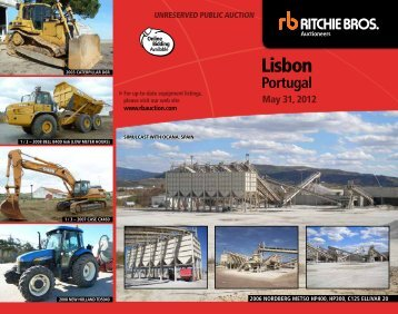 Lisbon - Ritchie Bros. Auctioneers
