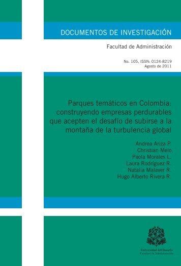 Parques temáticos en Colombia: construyendo empresas ...