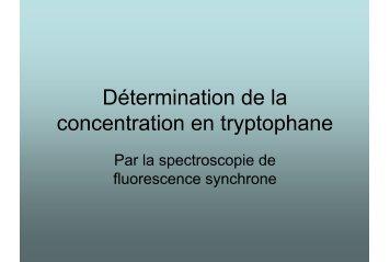 Sylvain_Détermination de la concentration en tryptophane