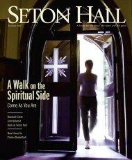 summer 2007 - Seton Hall University