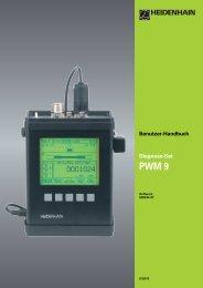 Benutzer-Handbuch PWM 9 - heidenhain