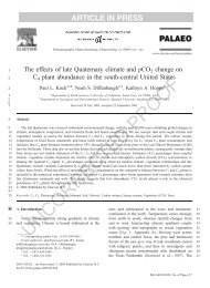 UNCORRECTED PROOF - Stanford School of Earth Sciences ...