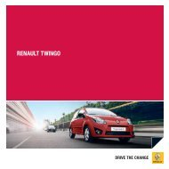 RENAULT TwiNgo - Renault Preislisten