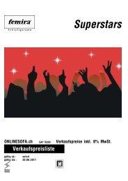 Femira Superstars - onlinesofa.ch