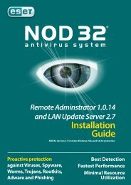 Installation Guide - Eset