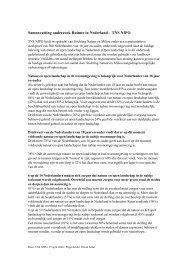 Samenvatting onderzoek Ruimte in Nederland - Natuur en Milieu ...