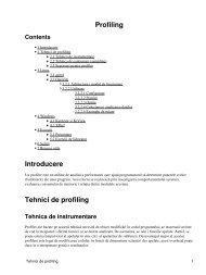 Profiling [pdf] - Andrei
