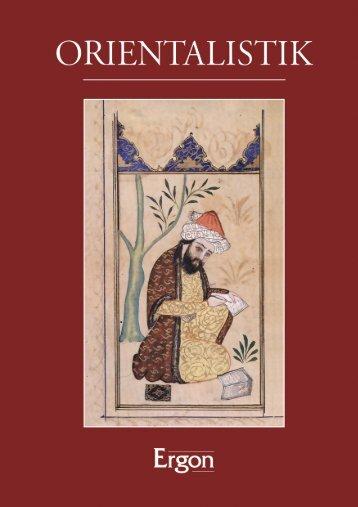 Orientalistik - Ergon Verlag