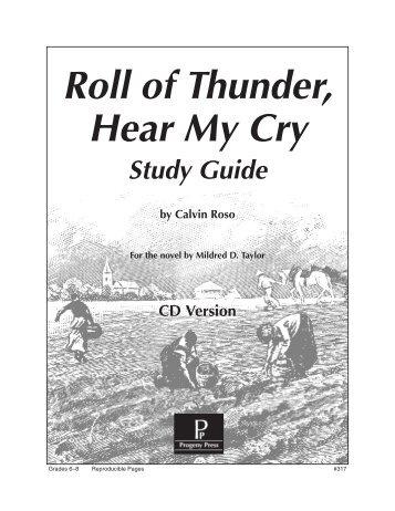 roll of thunder hear my cry 3 essay