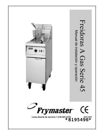 8195496 - Frymaster