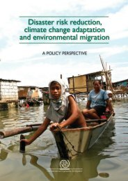 Disaster risk reduction, climate change adaptation and ...
