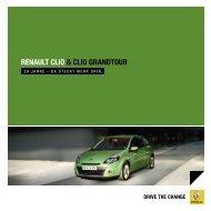 RENAULT CLIO & CLIO GRANDTOUR - Renault Preislisten