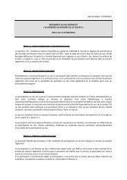 Date de dépôt : 07/09/2012 RÈGLEMENT DU JEU ... - Tf1