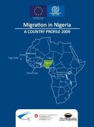 Migration Profile on Nigeria - IOM Publications - International ...