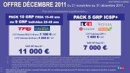 offre décembre 2011 - TF1