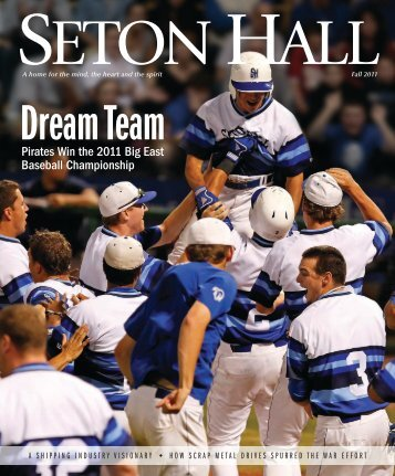Read the entire Seton Hall University Magazine - Global Alliance for ...