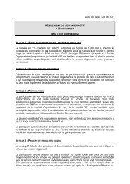 Date de dépôt : 26 08 2011 RÈGLEMENT DU JEU ... - TF1