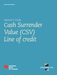 Line of credit - Standard Life