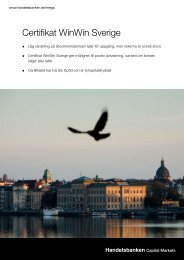 Certifikat WinWin Sverige - Strukturerade placeringar ...