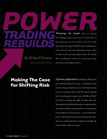 Power Trading Rebuilds [PDF]