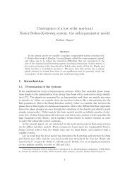 Convergence of a low order non-local Navier-Stokes-Korteweg system
