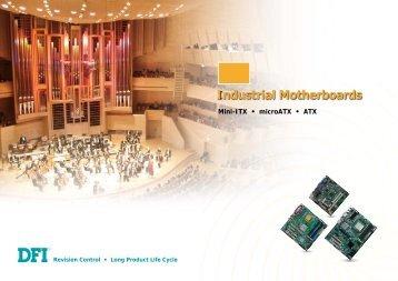 Industrial Motherboards - Dfi