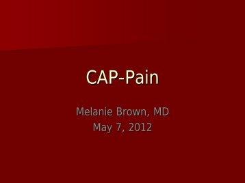 CAP-Pain