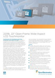 2239L 22 - Elo Touch Solutions