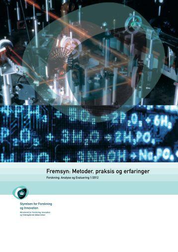 Fremsyn: Metoder, praksis og erfaringer - DTU Orbit - Danmarks ...