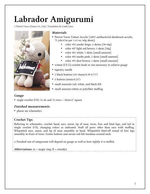 How to join amigurumi pieces | crochet and amigurumi tutorials | lilleliis | 640x495