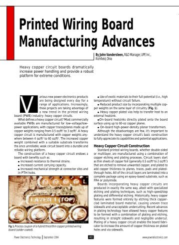 printed wiring board cleaner technologies substitutes assessment