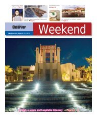 Pages 8 & 9 - Oman Daily Observer