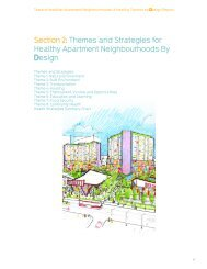 Themes and Strategies for Healthy Apartment Neighbourhoods By ...