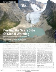Pushing the Scary Side Of Global Warming - Florida Institute of ...
