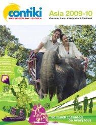Asia 2009-10 - Contiki