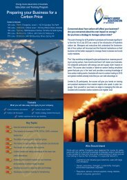 Preparing your Business for a Carbon Price - Australian Institute of ...