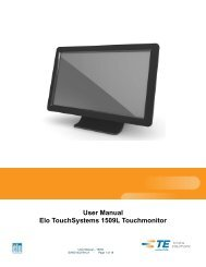 English - Elo Touch Solutions