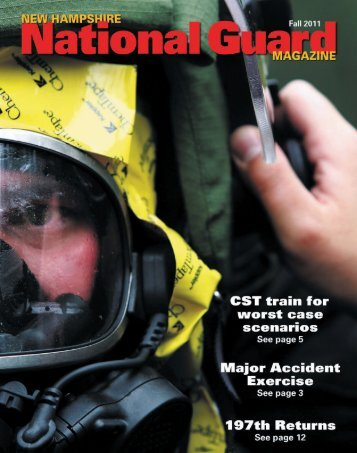 New Hampshire National Guard Magazine - Fall 2011
