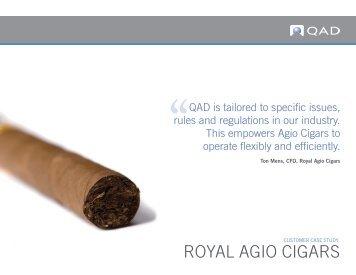 ROYAL AGIO CIGARS - QAD.com