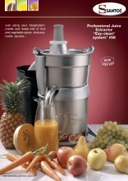 "Professional Juice Extractor ""Ezy-clean® system"" #58"